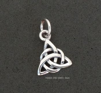 Triquetra Charm Sterling Silver