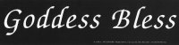 Goddess Bless Pagan Bumper Sticker