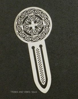 Celtic Cross Metal Bookmark, 75mm
