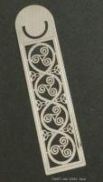 Triskele Triquetra Metal Bookmark, 125mm