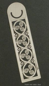 Triskele Triquetra Metal Bookmark, 125mm