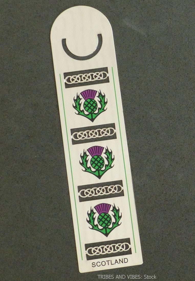 Scotland Thistle Bookmark by Sea Gems (stock)