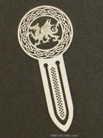 Welsh Dragon (Y Ddraig Goch) metal Bookmark, 75mm
