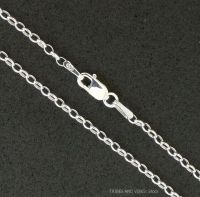 925 Sterling Silver Belcher Chain Necklace 22