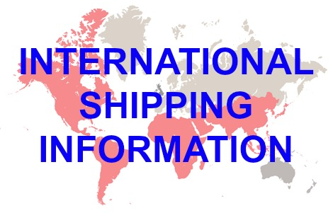 international overseas world shipping information