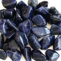Sodalite Crystal Tumbled Stones, 20-25mm