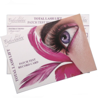 Patch Test Cards for Lash Lift