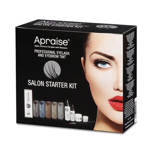 Apraise Professional Eyelash and Eyebrow Tint - Salon Starter Kit