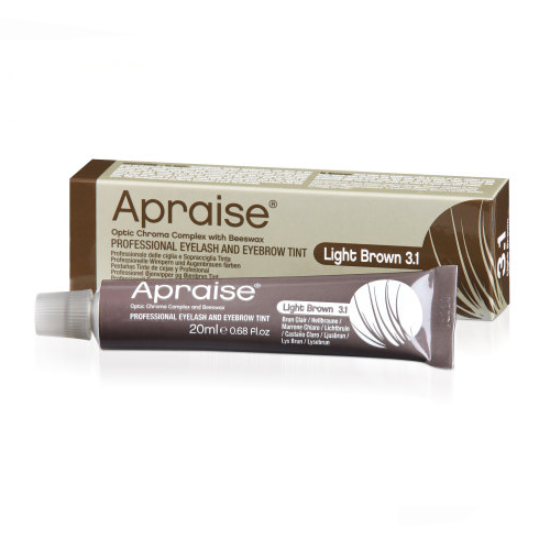 Apraise Light Brown Eyelash and Eyebrow Tint - 20ml