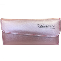 Tweezer Case Soft Faux Leather for Eyelash Extensions (holds 6 tweezers) - Available in Pink, Gold or White