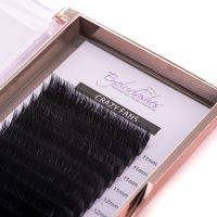 CRAZY FANS Eyelash Extension Tray (MIX LENGTH) 16 Lines Easy Fans