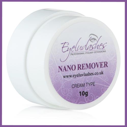 cream nano remover eyelashes