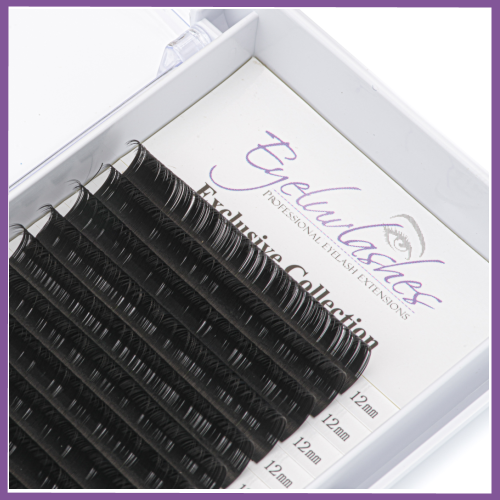 Exclusive Collection Rich Black Matte Lashes