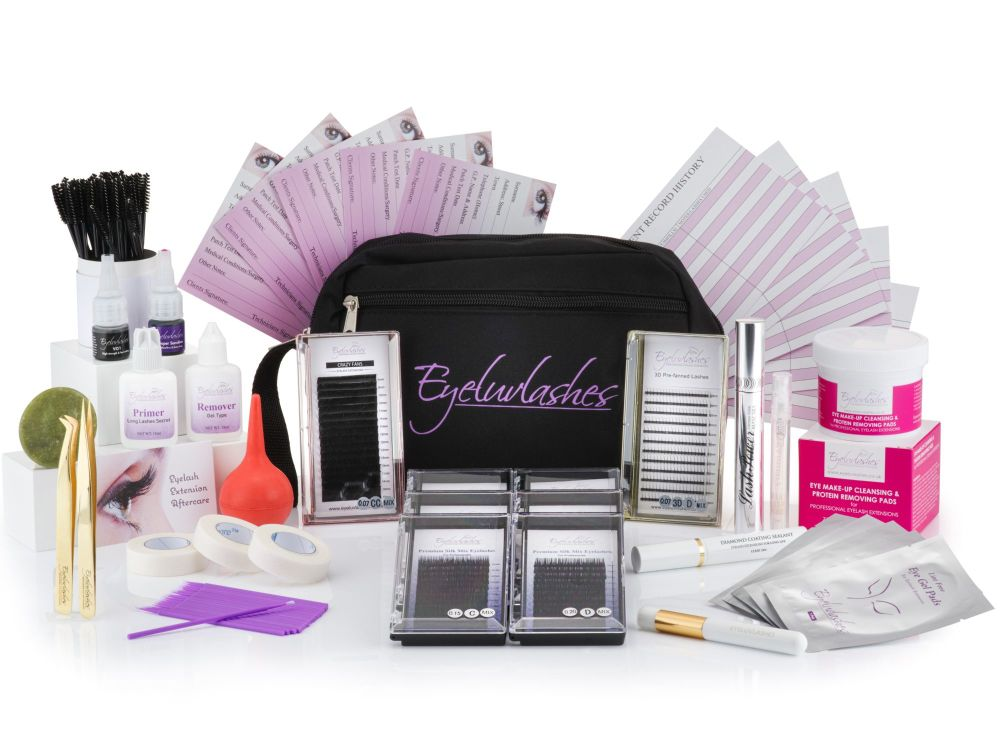 Eyelash Extension Training Kit - Set 3