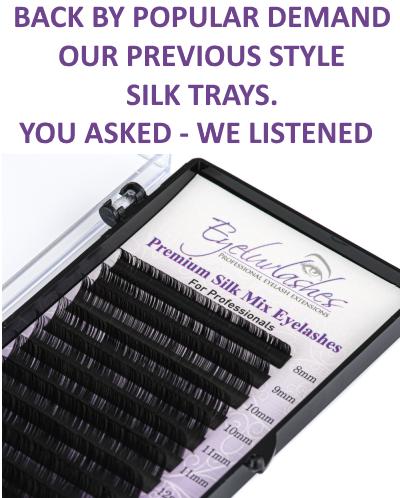 silk eyelash trays