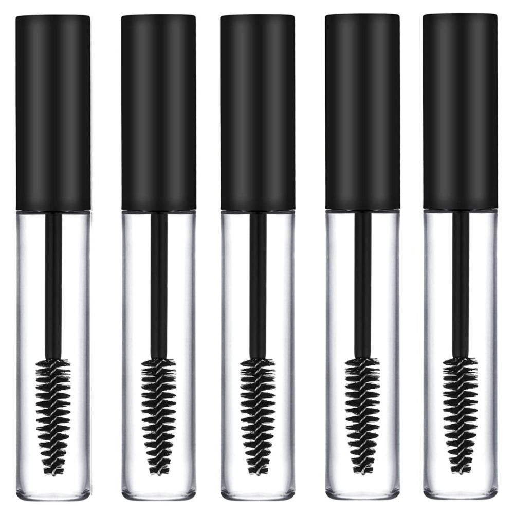 <!-- 0000921 -->5 x Empty Mascara Tubes BLACK 10ml