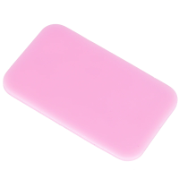Silicone Eyelash Holder (Pink or Clear available) 9cms x 5.5cms
