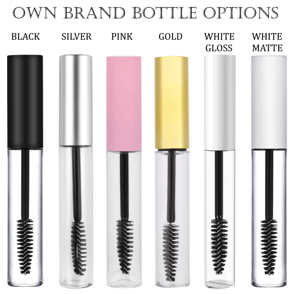 Mascara Bottle Options
