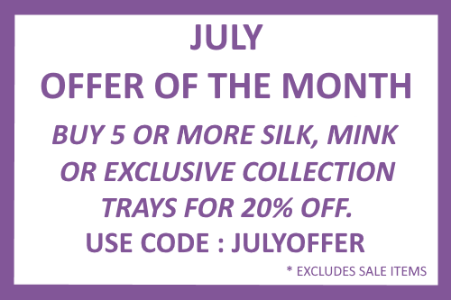 July Offer of the month eyelash trays