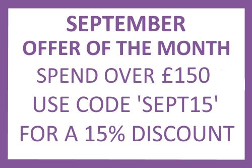 September Offer of the month eyelash trays