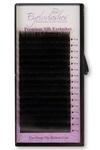 J Curl 0.25 Thickness / 15mm Length Silk Individual Eyelash Tray