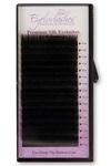 J Curl 0.25 Thickness / 16mm Length Silk Individual Eyelash Tray