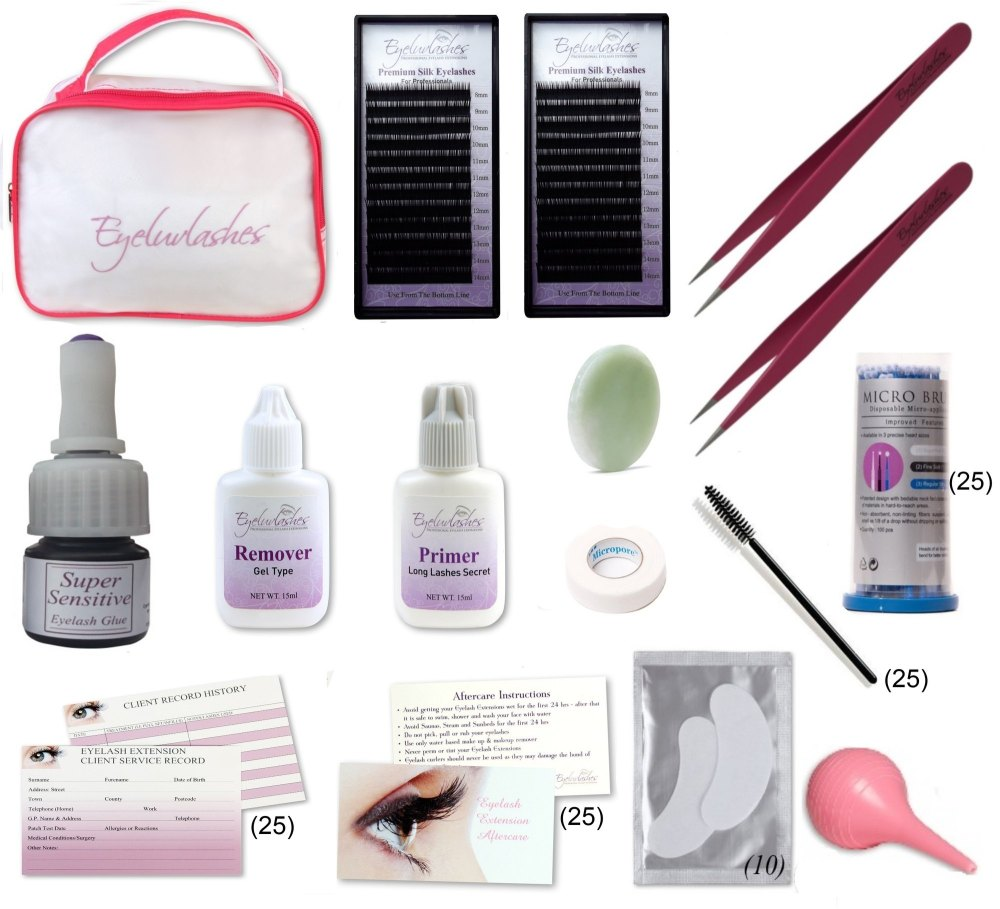 Eyelash Extension Training Kit - Set 1