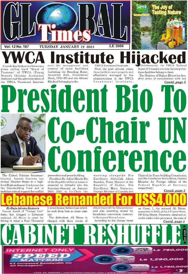 YWCA News paper