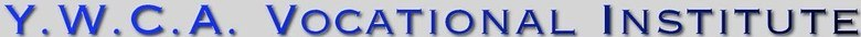 YWCA Vocational Institute Freetown, site logo.