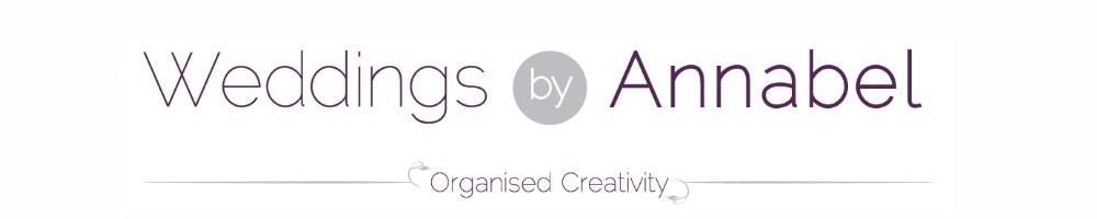 Weddings by Annabel, site logo.