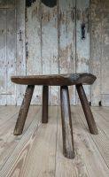 Primitive slab stool