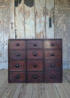 Bank of drawers