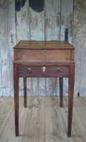 Fruitwood desk on stand