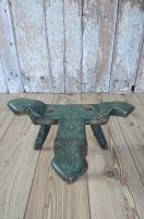 Primitive painted stool