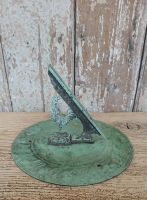 Verdigris sundial plate by J P White & Sons Ltd