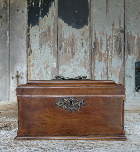 Georgian stationery box