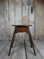 Boarded stool
