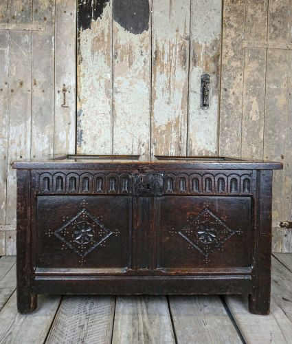 Panelled coffer