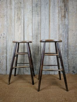 Pair of pub stools
