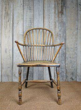 Hoop back chair
