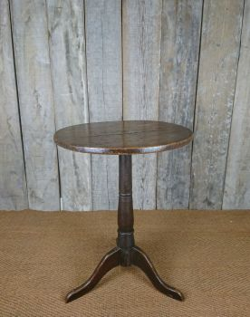 Primitive tripod table