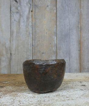 Burr treen mortar