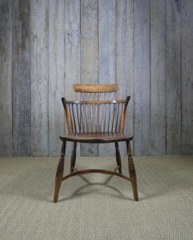 Yew armchair