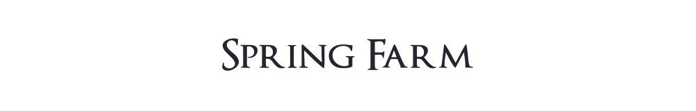 Spring Farm, site logo.