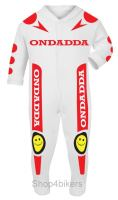 9-Motorcycle Baby Grow babygrow race suit Ondadda 1