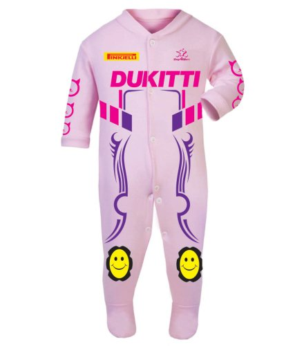Motorcycle Baby grow babygrow Dukitti 2016 Baby Girl Race Suit