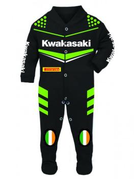 5-Motorcycle Baby grow babygrow Kwakasaki 2016 Baby Race Suit
