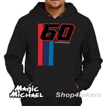 Michael van der Mark Hoodie hoody magic Michael WSBK Yamaha rider 2016 black
