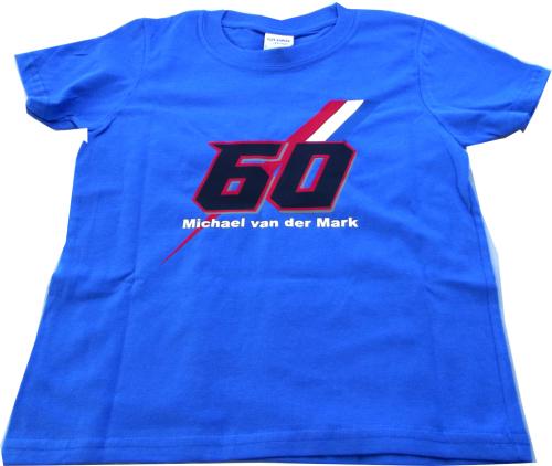 Michael van der Mark Official blue kids children's t shirt 2017