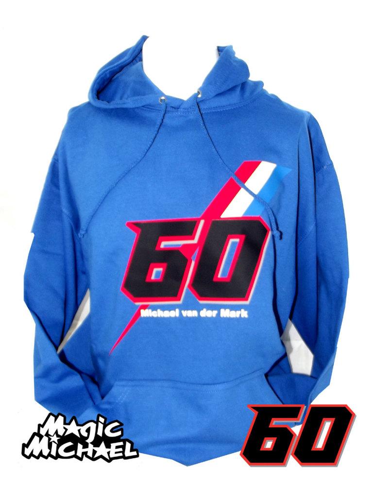 Michael van der Mark Official blue hoodie hoody sweatshirt 2017